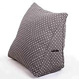 MON5F HOME Mode Kissen dreieckig Kissen Baumwolle und Leinen (Farbe: 1#, Größe: 50 * 35 * 20cm) (Color : 1#, Size : 50 * 35 * 20cm)