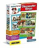 Clementoni 96094 Dinosaurier-Bingo Spielend Lernen, Mehrfarbig