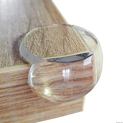 Grand Coin de Table Protection Bebe Transparent Protection d'Angle Pour Enfants Protege Angle Coin Enfant Tableau de Meuble
