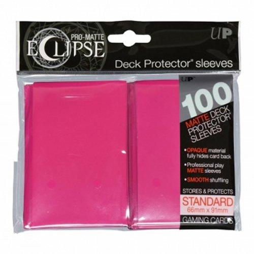 Hot Magic (Ultra Pro upr85609Eclipse Standard Pro Matt Karte Ärmeln, 100Stück-Hot Pink)