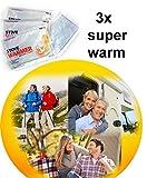 3 x Camping Wärmepad Wärmekissen