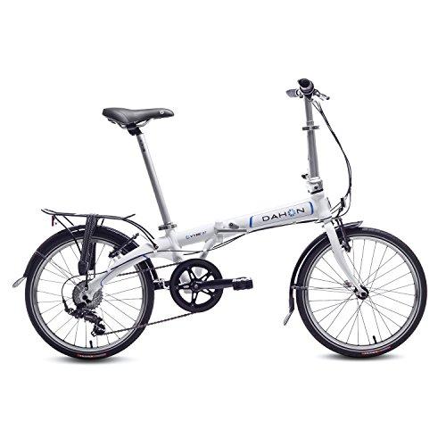 Dahon Vybe D7 Bicicleta Plegable, Unisex Adulto, Blanco Cloud, 20'