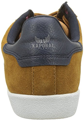 Kaporal Kaki, Sneaker Alte Uomo Jaune (Cognac)
