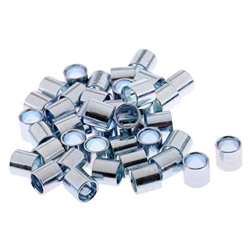 Sharplace 40pcs Eisen Kugellager Lager Skateboard Abstandhalter, 10,3 x 10 mm - 10mm Skateboard-lager