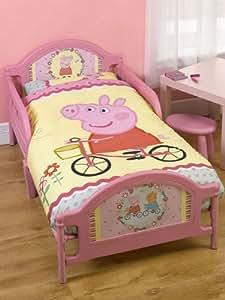 Peppa Pig Toddler Bed Plus Junior Duvet Set - OFFICIAL ...