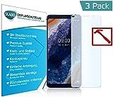 Slabo 3 x Premium Panzerglasfolie für Nokia 9 PureView Panzerfolie Schutzfolie Echtglas Folie Tempered Glass KLAR 9H Hartglas