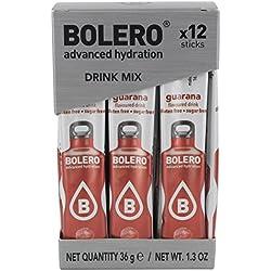 Bolero Sticks Guarana - Paquete de 12 x 3 gr - Total: 36 gr