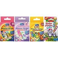 Kinderpflaster/Pflaster / Stripes für Kinder im Set - mit tollen bunten Motiven - wählbar: Kunterbunt – Prinzessin... preisvergleich bei billige-tabletten.eu