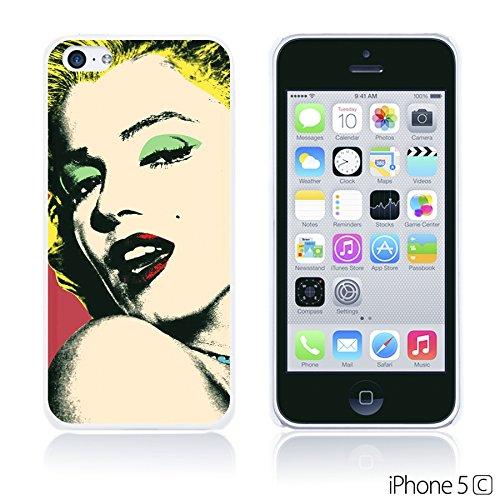 OBiDi - Celebrity Star Hard Back Case / Housse pour Apple iPhone 5C - Che Guevara Marilyn Monroe
