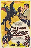 El signo del Zorro Póster de película - 28 cm x 44 cm 11 x 17 en Guy Williams Henry Calvin Gene Sheldon Romney Brent Britt Lomond George Lewis
