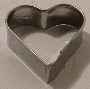 Emporte pi ce pour biscuits coeur inox 4cm amazon for Emporte piece cuisine