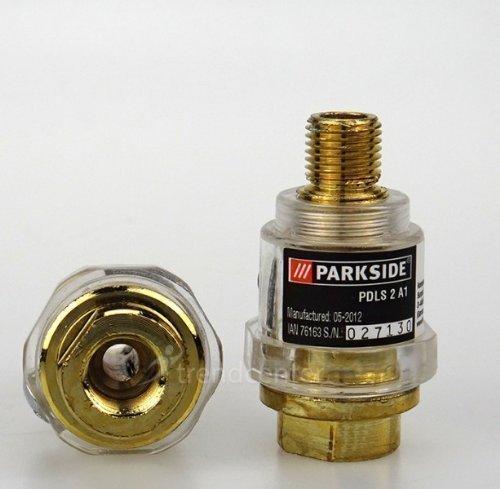 Parkside 2 Stück Druckluft Leitungsöler Set Öler Nebler Kompressor PDLS 2 A1