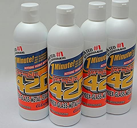 Formula 420 Glass Metal Ceramic Pipe Cleaner 12 Oz Bottles by Formula 409