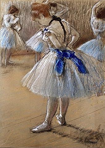 Edgar Degas: Dancer (Ballet/Ballerina). Fine Art Print/Poster. Size A4 (29.7cm x 21cm)