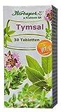 Salbei- und Thymian Extrakt mit Vitamin C, 30 Lutschtabletten, antibakteriell, schleimlösend, effektiv bei Halsschmerzen, Zahnfleischentzündung, für frischen Atem, bei Erkältung