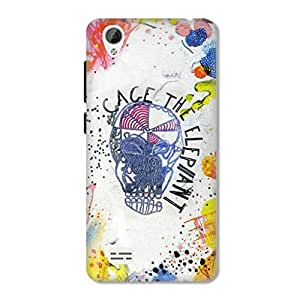 HAPPYGRUMPY DESIGNER PRINTED BACK CASE for VIVO Y31