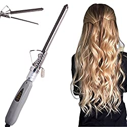 V&G Salon Hair Care Curler Curl Curling Iron Rod Brush Styler Straightener 40W -10