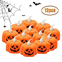 JYPS Halloween Decorations Latern Halloween Oil Lamp Lights Battery Powered Party Supplies Halloween Props With Witch, Ghost, Skull, Zombie, Bats for Bar Home Outdoor Décor