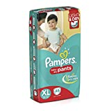 #1: Pampers Extra Large Size Diaper Pants (48 Count)