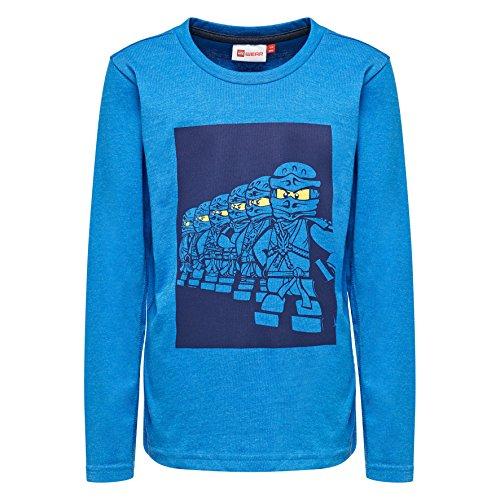 Lego sebastian, t-shirt bambino, blu (blue 541), 6 anni (taglia produttore: 116)