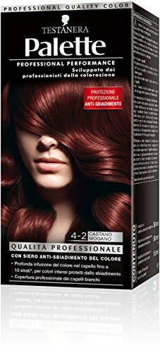 testanera – Palette Marronnier acajou 4.2, qualité professionnelle