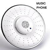 Best Bluetooth Douche Haut-parleurs - ZREAL Douchette Musique Pomme de douche avec Haut-Parleur Review
