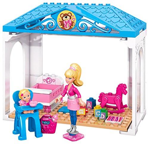 Mega Bloks Barbie Babysitter - Blocchi Nursery Abc