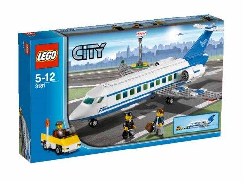 Preisvergleich Produktbild LEGO City 3181 - Passagierflugzeug