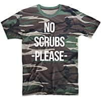 No Scrubs Please Camuffare Uomo T-Shirt Maglietta