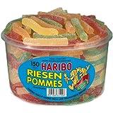 Haribo Riesen Pommes, 1er Pack (1 x 1.2 kg Dose)