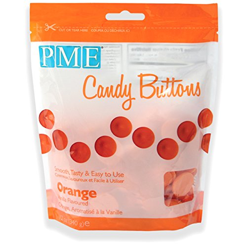 pme-candy-buttons-orange-340-g
