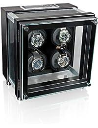 heisse & Söhne vitrina para relojes Alpha 4 Color negro