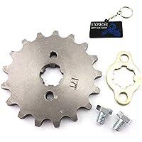 stoneder 420 17 mm 17 dientes diseño de cadena delantera piñón Gear 50 cc 70 cc 90 cc 110 cc 125 cc 140 cc 150 cc 160 cc motor ATV Quad Pit Suciedad Trail ...