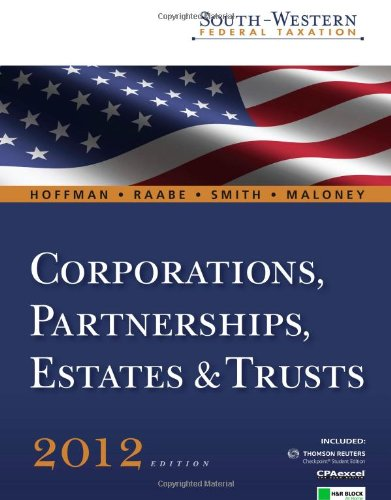 south-western-federal-taxation-2012-corporations-partnerships-estates-and-trusts-with-hr-block-home-