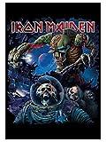 armardi Iron Maiden Poster Fahne Frontiers Album Cover