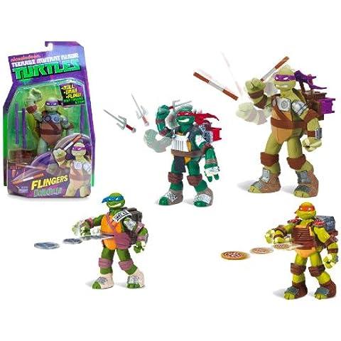 Ninja Turtles - Personaggi Deluxe Con Funzione