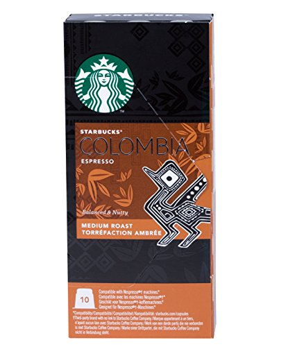 "Get Starbucks Espresso Collection ""Grande"" - 40 Nespresso compatible capsules - 4 different blends (in total 4x10 pods) from Starbucks"
