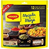 MAGGI Masala-ae-Magic Vegetable Masala, 72g Pouch (6g x 12 Sachets) | All in One Masala for Dry Vegetables, Paneer, Dal & More