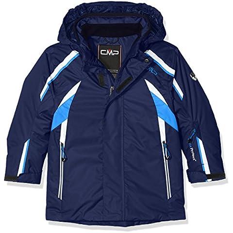 CMP giacca da sci da ragazzo, Ragazzo, Skijacke, blu navy,
