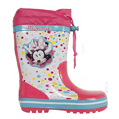 Disney Bottes D'eau Minnie Blanco / Rosa I 29 uct1IH