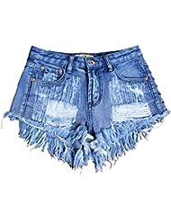 Tissu En Denim À Taille Haute Pour Femme Jeans De Loisir Jeu De Fête De Clubwear Vêtements De Poche Trousses
