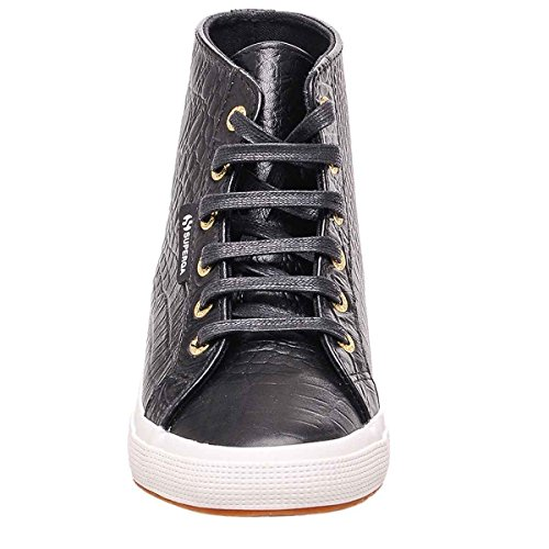 Superga 2095-Plus Fglwembcocco, Sneaker, Donna BLACK