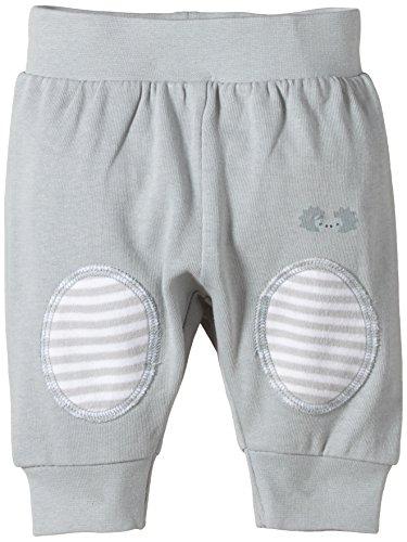 Twins Unisex Baby - Sweathose mit Kniepatches, Einfarbig, Gr. 86, Grau (14-5002 - silber)