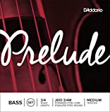 D\'Addario Bowed Jeu de cordes pour contrebasse D\'Addario Prelude, manche 3/4, tension Medium