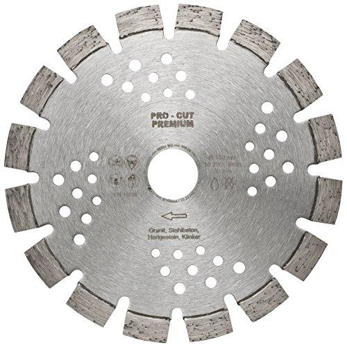 Diamant-Trennscheibe, PRO CUT PREMIUM, Ø 180, Belag 10 mm