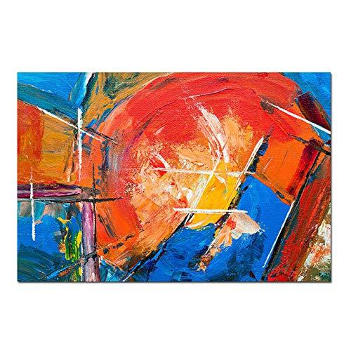 NIMCG Quadro Moderno su Tela Divano Sfondo Decorato Muro colorato in Fiore Poster Tela Foto Parete (Senza Cornice) A2 20x30CM