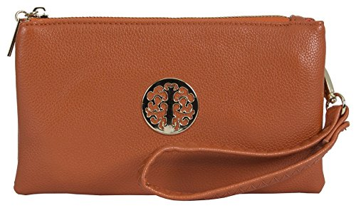Big Handbag Shop, Borsetta da polso donna Orange