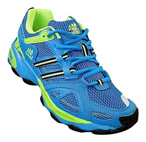 Bootsland 671 Neon Turnschuhe Sneaker Sportschuhe Unisex, Schuhgröße:45