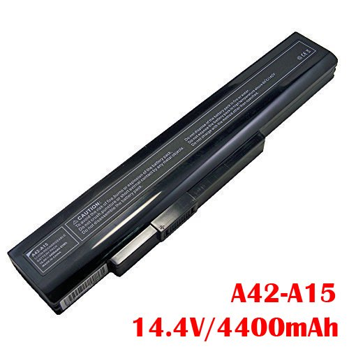 Price comparison product image Laptop Battery Type A42-A15 for Medion Akoya E6222 E7219 E7220 E7222 E6228 P6816 P7816 P7818 X6816 MD99160 MD97874 MD97877 MD97879 MD98980 MD99050 MD99030 MD99060 14.4 V 4400 mAh 63Wh