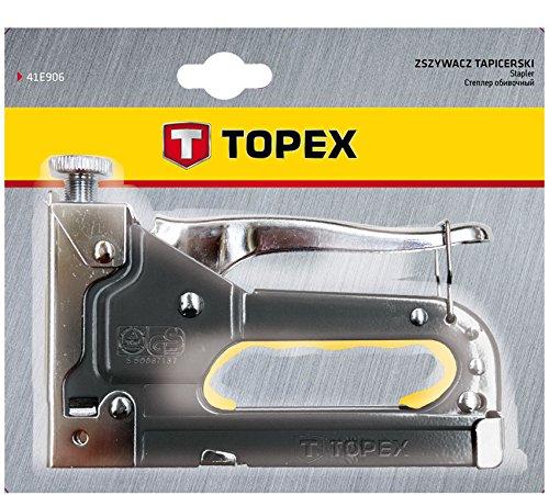 Topex 41E905 Grapadora tapicero grapas tipo J